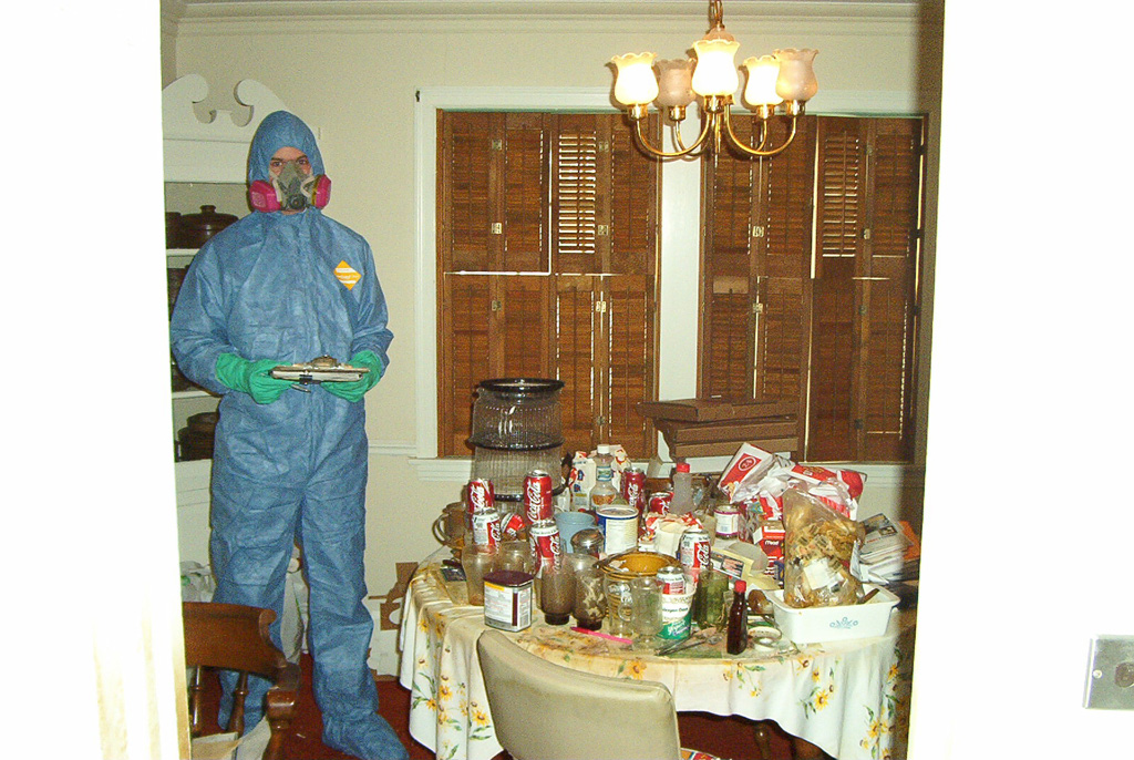Biohazard Cleaning Photos