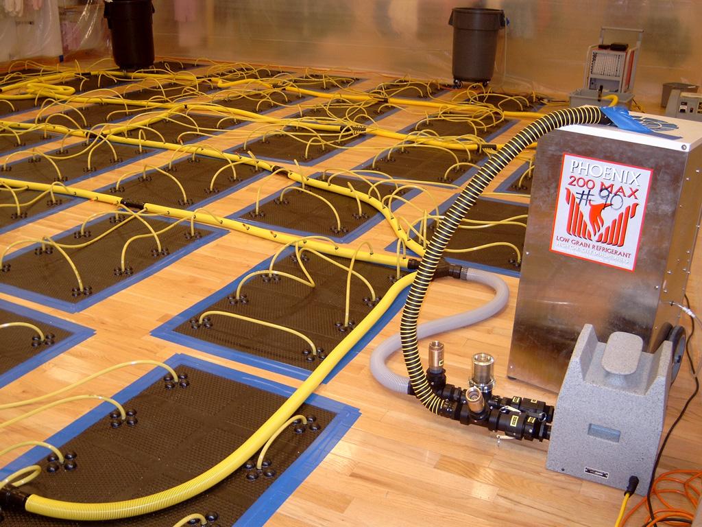 Hardwood Floor Water Damage hardwood floor water damage problems Drying Hardwood Floors 3