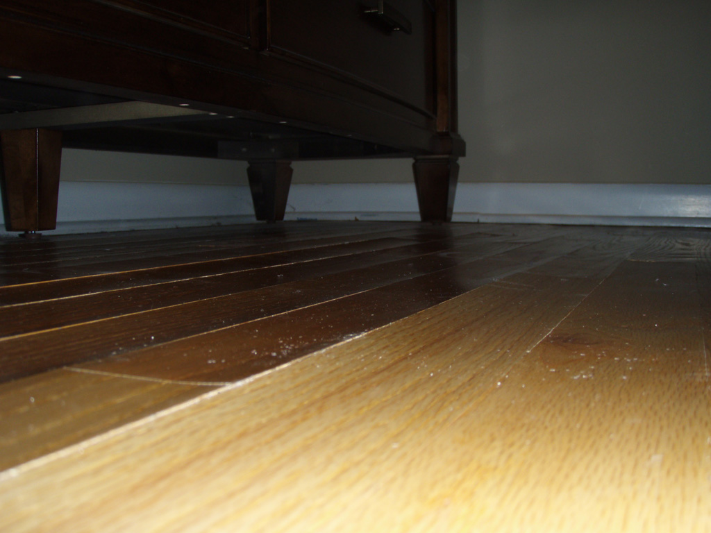 Water damage repair photos for Hardwood floors repair